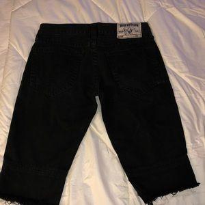 True Religion Jean Shorts